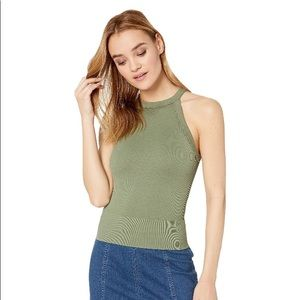 FREE PEOPLE   Moss green Cami